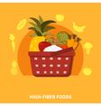 1608sm002075m004c3food supermarket vector image vector image