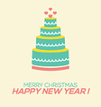 2015 New Year Card vector image vector image