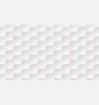 abstract background of hexagons vector image vector image