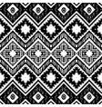 abstract zigzag pattern for cover design tribal vector image vector image