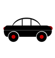 Car symbol sign on white vector image vector image