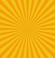 Flat Sunburst Pattern vector image