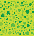 grunge clover seamless 2 vector image vector image