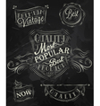Heraldry chalk premium vector image vector image
