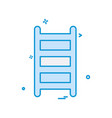 ladder icon design vector image vector image