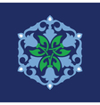 Ottoman decorative pattern vector image vector image