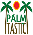 Palm Tastic vector image vector image