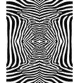 seamless zebra pattern vector image vector image