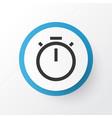 timer icon symbol premium quality isolated vector image