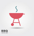 barbecue icon vector image vector image