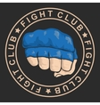 emblem about fighting club Monochrome graphic