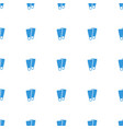 flippers icon pattern seamless white background vector image vector image