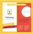 holy bible company brochure template busienss vector image vector image