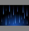 rain blue shape background space geometric of vector image