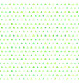 shamrock pattern seamless vector image vector image