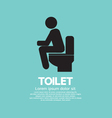 Toilet EPS10 vector image