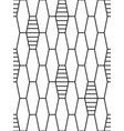 abstract netting pattern vector image vector image