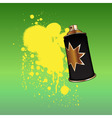 aerosol spray vector image