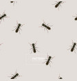 ant pattern vector image