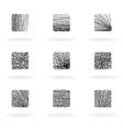 doodle design elements vector image