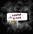 Grunge Design Banner vector image vector image