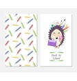 Stylish inspiration card in cute style with vector image vector image