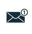new message notification icon vector image