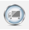 Delivery Glossy Icon vector image vector image