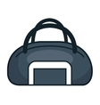 handle bag gym isolated icon vector image vector image