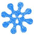 virus grunge icon vector image vector image