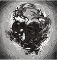 Dark Death vector image vector image