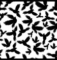 Holy birds dove seamless pattern vector image vector image
