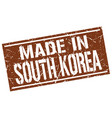 made in south korea stamp vector image vector image