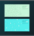 modern templates abstract geometric background vector image vector image