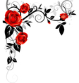 Ornament with roses vector | Price: 1 Credit (USD $1)