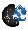 plumbing repair at home vector image