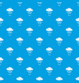 rainy pattern seamless blue vector image