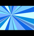 Rays Radius Background Blue vector image vector image