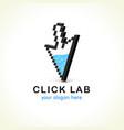 click lab logo vector image