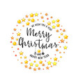 congratulations merry christmas banner for cards vector image vector image