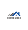 house roof construction abstract logo