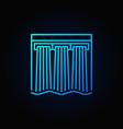 hydroelectricity blue icon vector image vector image