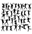 jump if you like business silhouettes vector image vector image