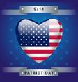 patriot day vector image vector image