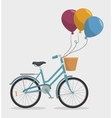 vintage Bicycle isolated icon design vector image vector image