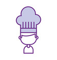 chef avatar character icon vector image