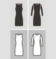 dress set vector image vector image