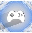 Gaming Joystick Flat modern web design on a flat vector image vector image