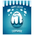 Holiday Easter everywhere vector image