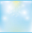mesh background blue with yellow vector image vector image